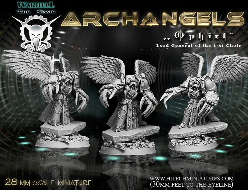 Ophiel Model for Warhell the Game - produced by Hitech Miniatures