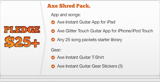 Axe Instant Guitars | Fundable - Crowdfunding for Small Businesses